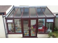 Used lean to Conservatory - uPVC (4700mm by 2700mm)