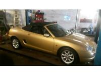 MG ROVER MGF would swap for old motor bike