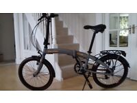 Immaculate Raleigh Evo-2 Folding Bicycle (used once only)