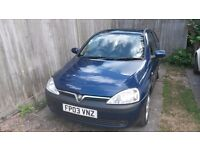 Vauxhall Corsa 1.2 Sxi (2003) - reliable and in good condition