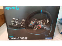 Logitech Driving Force G29 (PS4 and PC) including Logitech Shifter