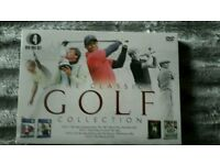 New 4 classic golf dvds