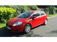 FIAT GRAND PUNTO 1.2 VERY CHEAP INSURANCE, LOW MILES, FULL HISTORY, LONG MOT ***BARGAIN***