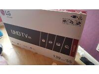 Lg 55 inch 4k tv new