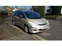 2003 TOYOTA PREVIA T SPIRIT D4 2.0 DIESEL MANUAL GOLD 1 PREVIOUS OWNER SERVICE HISTORY 12 MONTH MOT