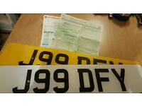 Private Plate! J99 DFY