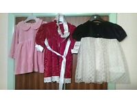 CHILDREN PARTY DRESSES VARIOUS SIZES UP TO 5 YEARS