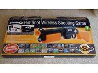 Zennox TV Hot Shot Wireless Shooting Game (20 games included)