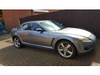 Mazda rx8 full 1 year mot 53 plate good condition no rips or tears interior starts and drives well