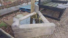 Three Sided Garden Planter/Water Feature