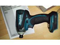 Makita XDT01Z 18 Volt Lith-Ion 3-Speed BRUSHLESS Impact Driver New 2017
