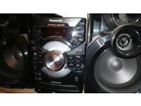 PANASONIC hi-fi CD/USB stereo 550W SA-AKX38