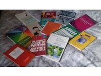 selection of social work books