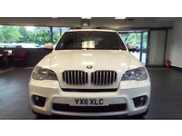 2011 11 BMW X5 3.0 XDRIVE40D M SPORT 5D AUTO 302 BHP DIESEL *2 YEARS WARRANTY*FINANCE