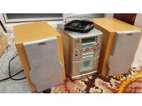 Philips Stereo, cd player and cassette