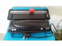 A4 Laminator + Trimmer + Laminating pouches