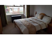Very nice, spacious double room in shared house available for short term let. £70pw
