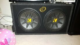 subwoofer kickers twin