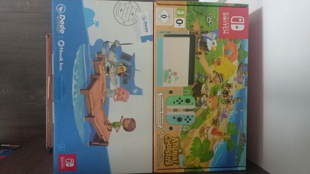 Nintendo Switch Console Animal Crossing Edition 32GB - UK ...