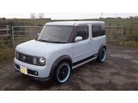 2004 nissan cube 1.4 automatic motd july 2017 mint condition full body kit BARGAIN £1600