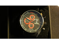 New Tag Heuer Mens Watch Black with Box