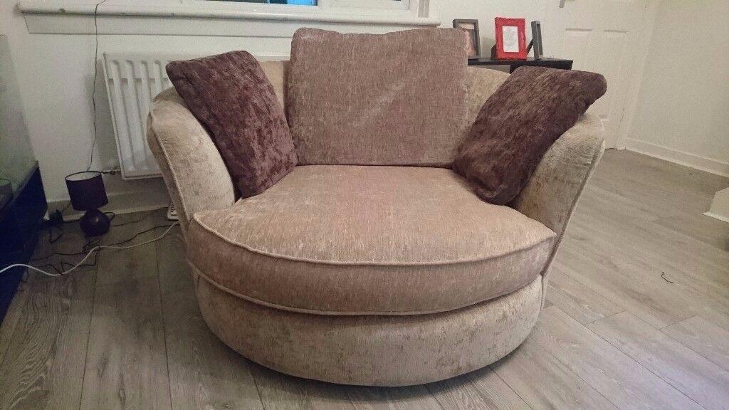 cuddle chair for sale in cumbernauld glasgow gumtree. Black Bedroom Furniture Sets. Home Design Ideas