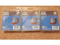 NEW 3 x Epson T067 colour cartridges for Stylus C48