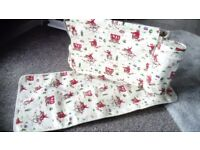 Cow boy cath Kidston babys changing bag with matt and bottle holder