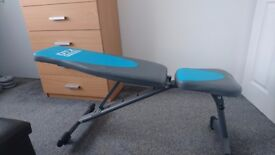 Bench,Weights,and Bars (Excellent Condition)+ PRICE IS NEGOTIOBLE.