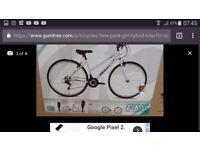Hybrid Bike for Girl new still in original pack just 110 pound only