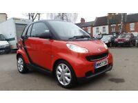 **LOW MILEAGE** SMART FORTWO 1.0 PURE 2 DOOR HATCHBACK **GOOD HISTORY+£30 ROAD TAX+12 MONTHS MOT**