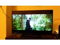 "Panasonic LCD TV 32"" Viera and DVD player"