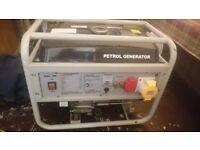 2800 petrol generator and 110 converter