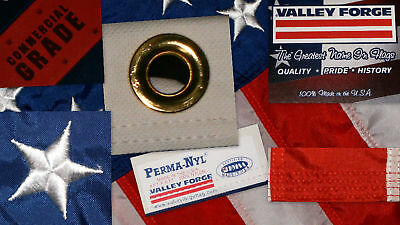 - Commercial Grade- Valley Forge  American Flag 4'x6' sewn Nylon Made in the USA