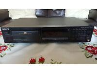 SONY CDP-311 CD PLAYER BLACK