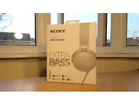 SONY Extra BASS (RRP-£50) MDR-XB550AP