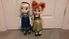 Disney Animation Frozen dolls