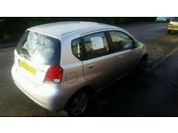 ***BARGAIN £290 if you buy today! Chevrolet Kalos 1.4 - 2007 - ONLY 62700miles