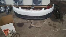 Fiesta Mk6 parts, bumpers, bootlids, lights, radiator cooling pack, turbo and manifold