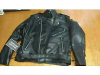 Brand new Gallanto Marlon Brando leather jacket