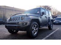 Jeep Wrangler JK Original 18 inch Alloy Wheels & Tyres set of 4 Sahara