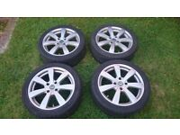 17 inch alloy wheels with tyres, Honda, Civic, Accord, Prelude