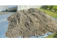 FREE top soil and rubble