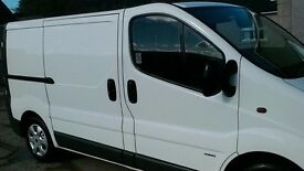 Vauxhall vivaro van with 6 seats
