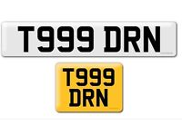 T999 DRN private cherished personal personalised registration plate number Daren emergency services