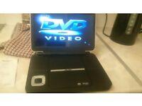 Bush portable 10 imch dvd player
