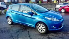 FORD FIESTA 1.2 2009 BLUE MANUAL 5DR**EXCELLENT CAR**ANY VIEWINGS WELCOME**