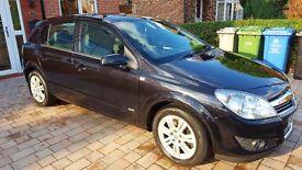 Black Vauxhall Astra Design 1.9TDI (58 reg)