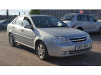 2007 Chevrolet Lacetti 1.8 CDX AUTOMATIC Saloon, LEATHER SEATS, HPI CLEAR auto