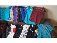 Women's/Girls' T-shirts Bundle (Size UK 6/EU XS)